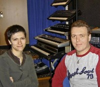 Elisa al Supersonic Studio per Lintver