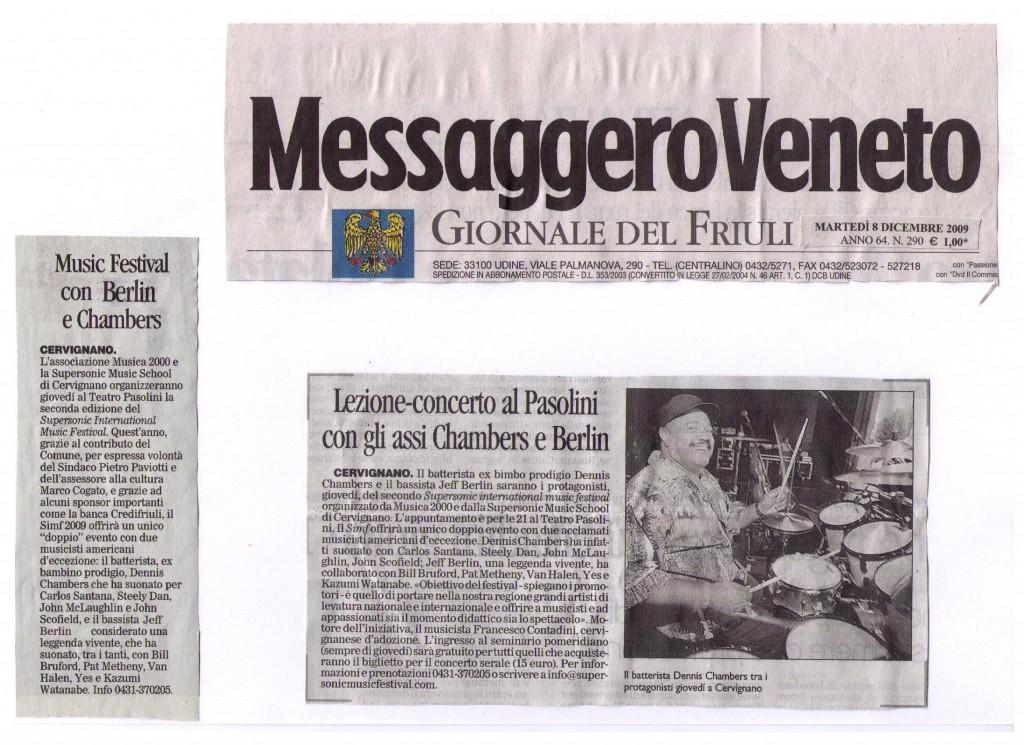 Messaggero Festival 2009