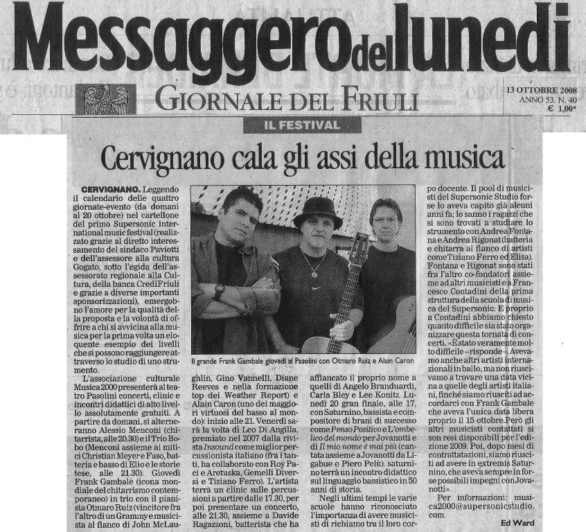 wzmkgnn_Articolo Messaggero 13 Ottobre low