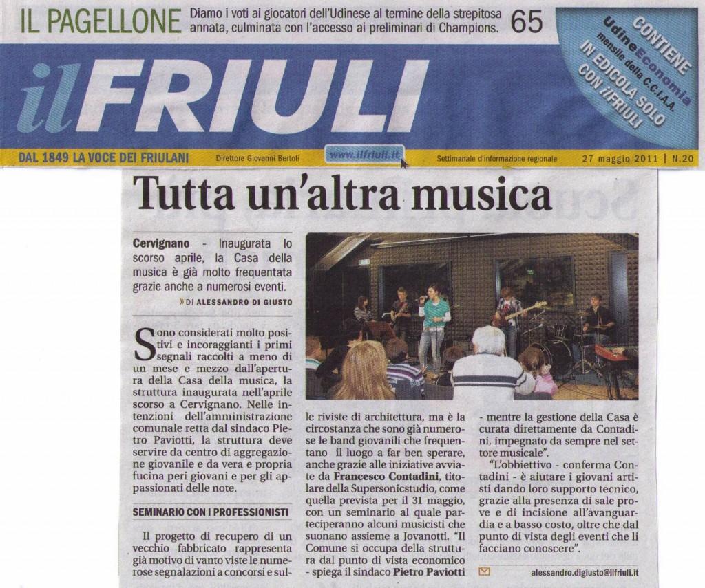 Il Friuli 27-05-2011
