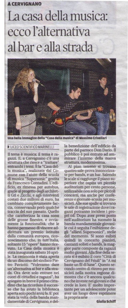Messaggero mag 2011 cut