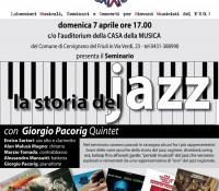Seminario gratuito 'LA STORIA DEL JAZZ'