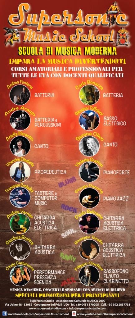 Locandina Supersonic 2014