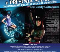Riparte il corso di Canto e Performance con Cindy Cattaruzza