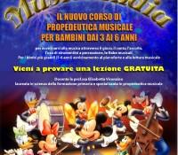 """Al via il corso di Propedeutica Musicale """"Musiclandia"""""""