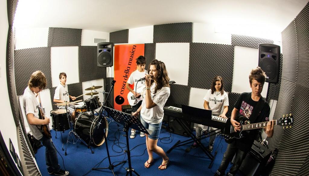 Sala Prove Casa della Musica 2015