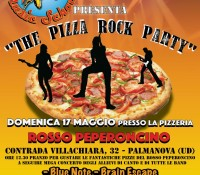 "The ""Pizza Rock Party"" al Rosso Peperoncino"