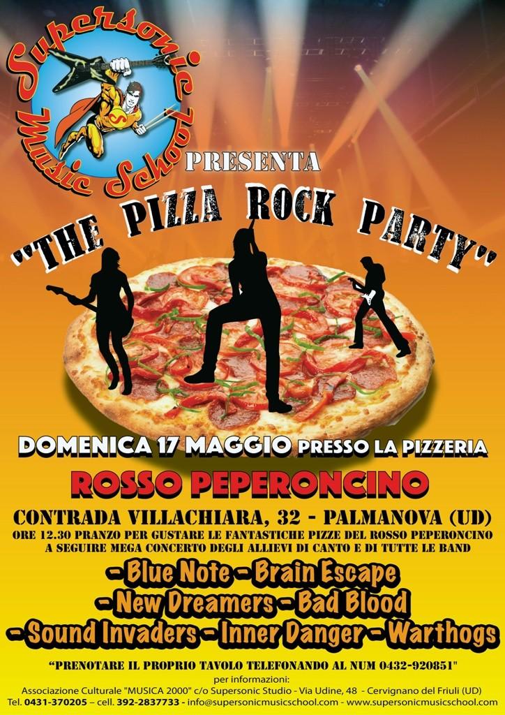 locandina Pizza Party Web