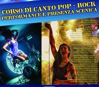Il corso di canto POP-ROCK con CINDY CATTARUZZA