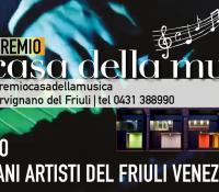 Premio Casa della Musica di Cervignano 2018 – 4a edizione