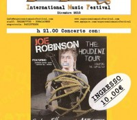 Joe Robinson al Supersonic Music Festival