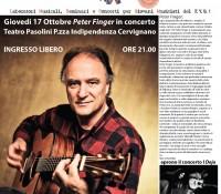Concerto gratuito con Peter Finger