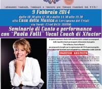 Nuovo seminario con PAOLA FOLLI