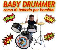 """Nuovo corso """"BABY DRUMMER"""" per bambini !!!"""